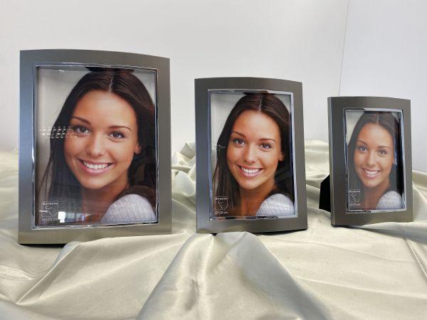 Fotorahmen grau silber 15 x 20