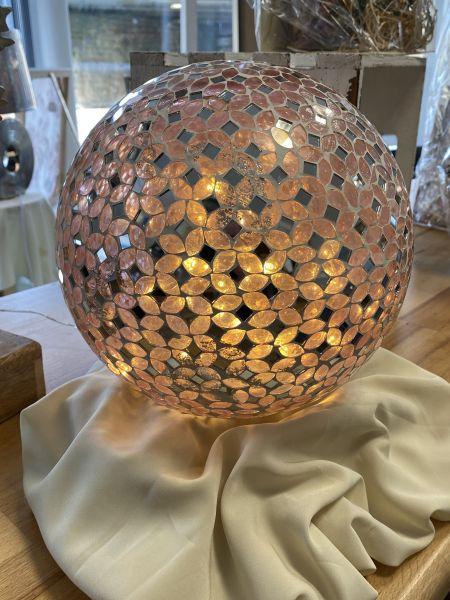 Glaskugel mit LED 220V Ca.25cm